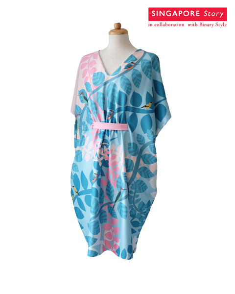 [SINGAPORE STORY] Native Bird Kimono Dress