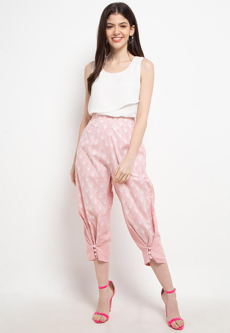 SEA SHELL BLUSH 3-Way Pants BATIK