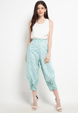 SEA SHELL MINT 3-Way Pants BATIK