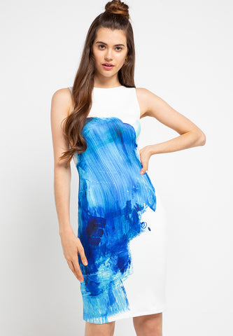 SPLASH Pencil Dress