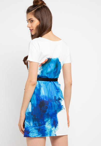 SPLASH Sleeve dress