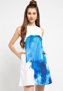 SPLASH sleeveless dress