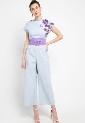 VANDA Blue Jumpsuit