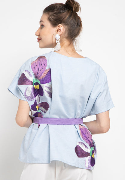 VANDA Blue Multiway Top