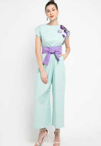 VANDA Mint Jumpsuit