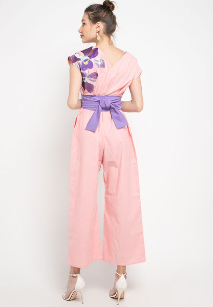 VANDA Peach Jumpsuit