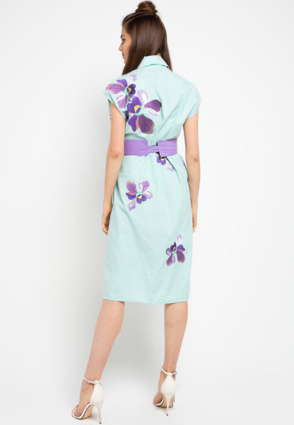 VANDA Mint Blazer Dress