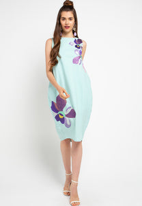 VANDA Mint Tulip Dress