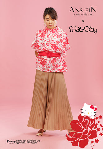 HELLO KITTY PEONY Multiway Top