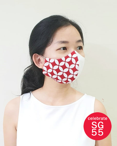 *) SG55 Reusable Mask