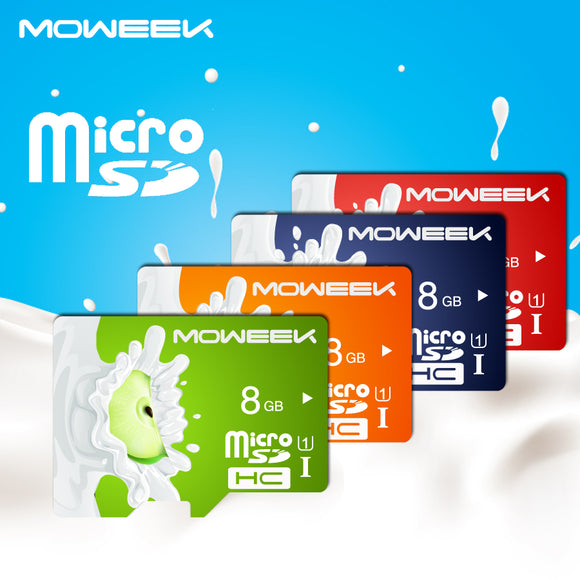 CLASS 10 MEMORY CARD FRUIT SERIES MICRO SD CARD SMARTPHONE 8GB 128GB