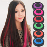HAIR DYE TEMPORARY POWDER CAKE NON-TOXIC HAIR CHALK SOFT PASTEL SALON TOOLS.