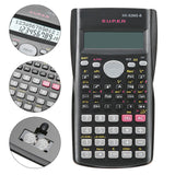 2LINE DISPLAY PORTABLE SCIENTIFIC CALCULATOR HANDHELD MULTIFUNCTIONAL MATHEMATICS TEACHING MULTI-FUNCTION