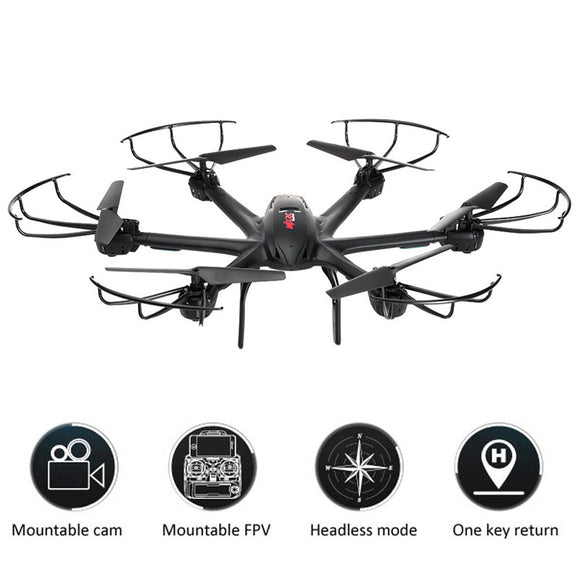 Drone Dron 6 Axis Hexacopter 3D Roll Stumbling Function Helicopter Drones Xmas G