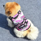PET VEST CUTE PUPPY CLOTHES T-SHIRT SMALL DOGS CAT ROUPA CACHORRO PRINT.