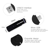 SWIVELLING METAL FLASH DISK 4GB 8GB 32GB 64GB 128GB USB PEN DRIVE OTG