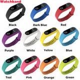 SILICONE FITNESS WRIST BAND REPLACEMENT STRAP BRACELET MULTIPLE CHANGE TRACKER XIAOMI MI