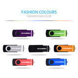 SWIVELLING USB FLASH DRIVE 3.0 HIGH SPEED METAL PEN DRIVE MEMORY STICK