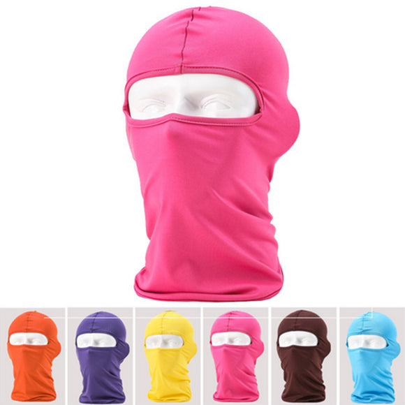 OUTDOOR SKI MASK HEAD WEAR FULL FACE PROTECTION.