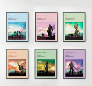 GUARDIANS OF THE GALAXY PRINTS