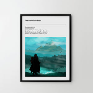 LORD OF THE RINGS 2, Poster Art Print, Movie Film Posters Hobbit - SOA State of Art