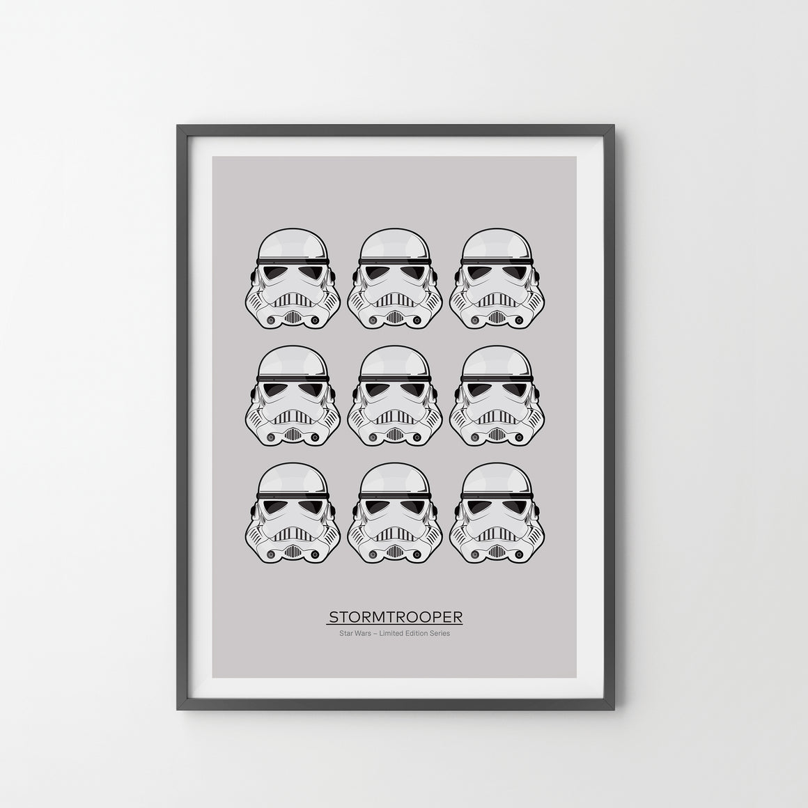 STAR WARS Stormtroopers 9 Giclée Art Poster Print Animation, Modern Office Bedroom Star Wars - SOA State of Art