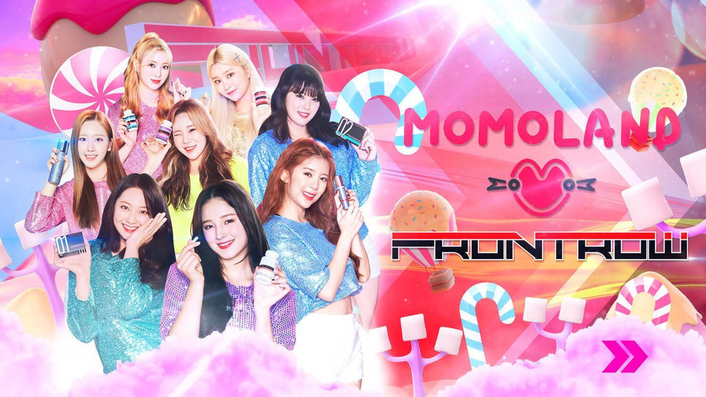 momoland is new frontrow international members