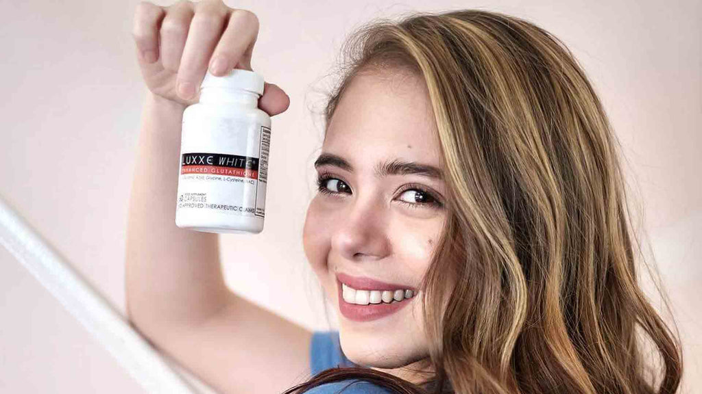 luxxe white enhanced glutathione benefits