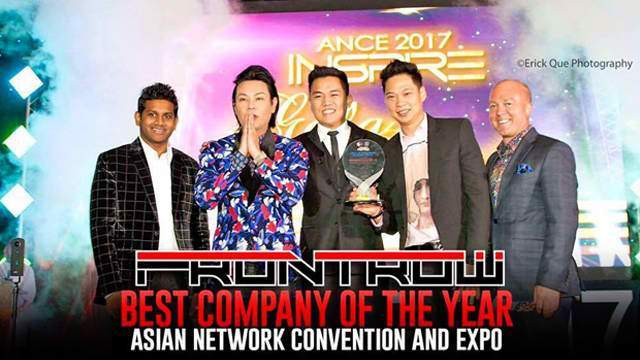 frontrow international best company of the year