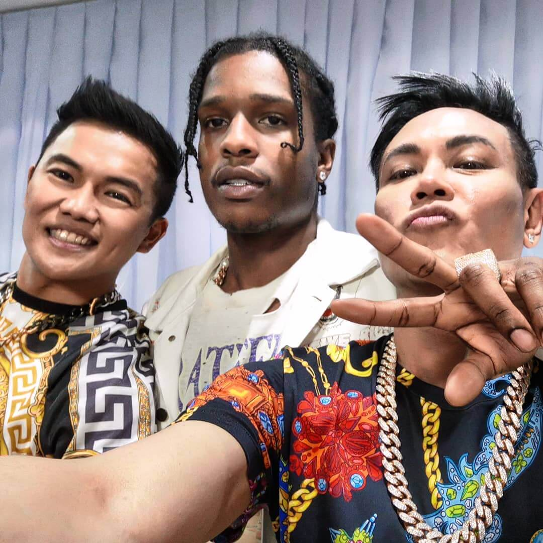 A$AP Rocky Performs at FRONTROW's Private Party for Floyd Mayweather