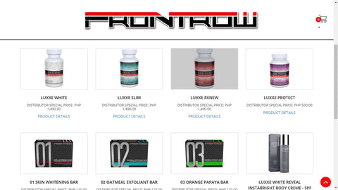 Frontrow Free White Label Online Shop