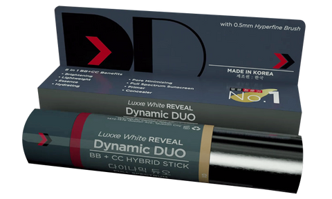 LUXXE REVEAL DD (DYNAMIC DUO) STICK WITH SPF 50.