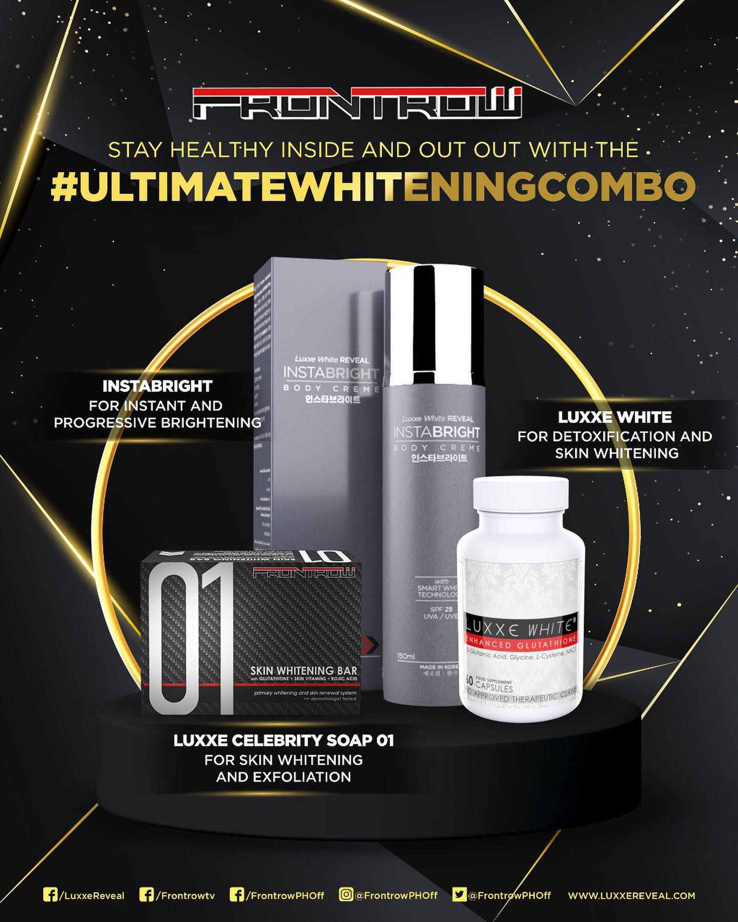 Luxxe All-Out Health Care With the Ultimate Whitening Combo