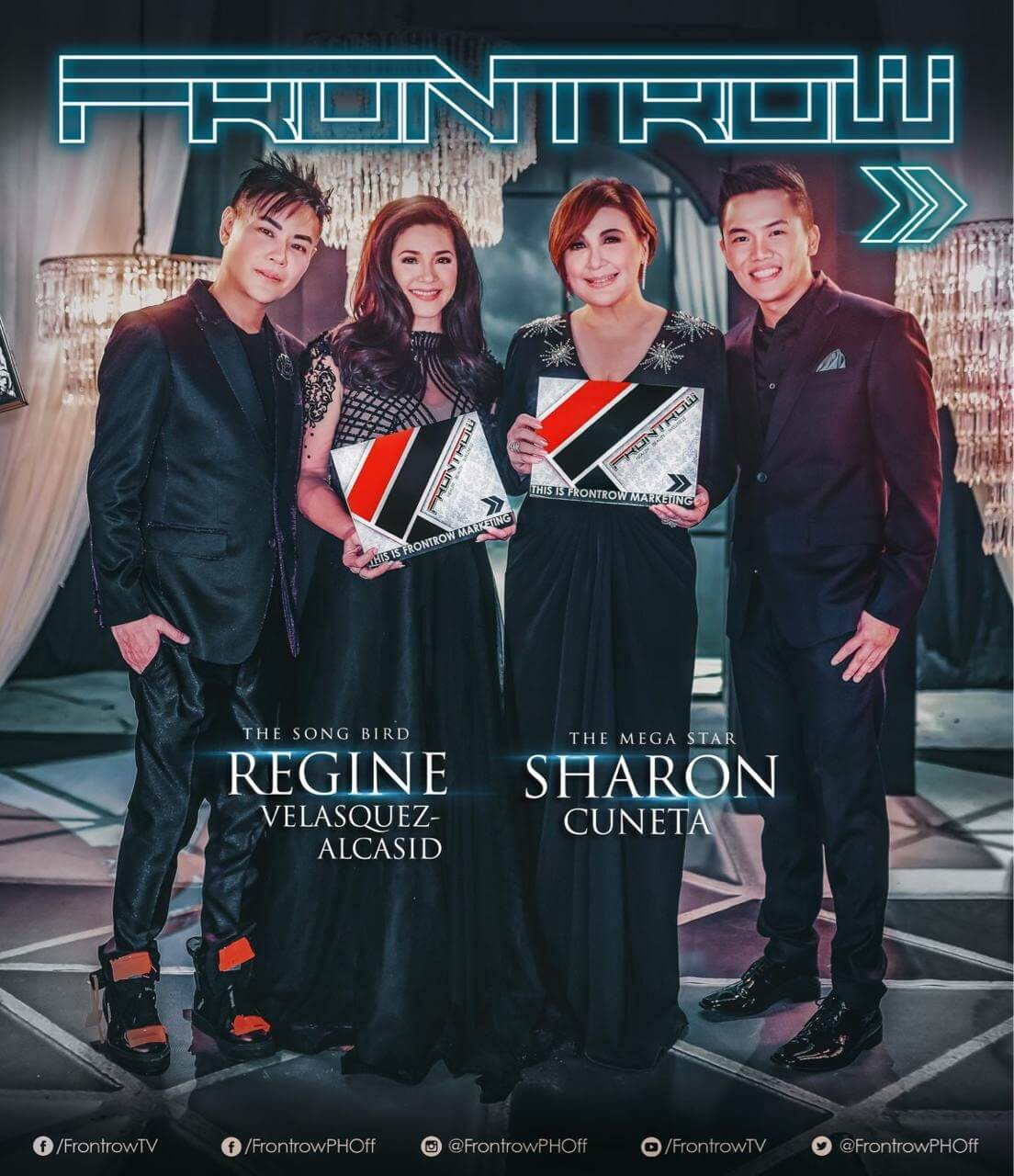 Philippine Showbiz Icons Ms. Sharon Cuneta and Ms. Regine Velasquez join forces with Philippine MLM Industry Icons Direk RS Francisco and Sir Sam Verzosa