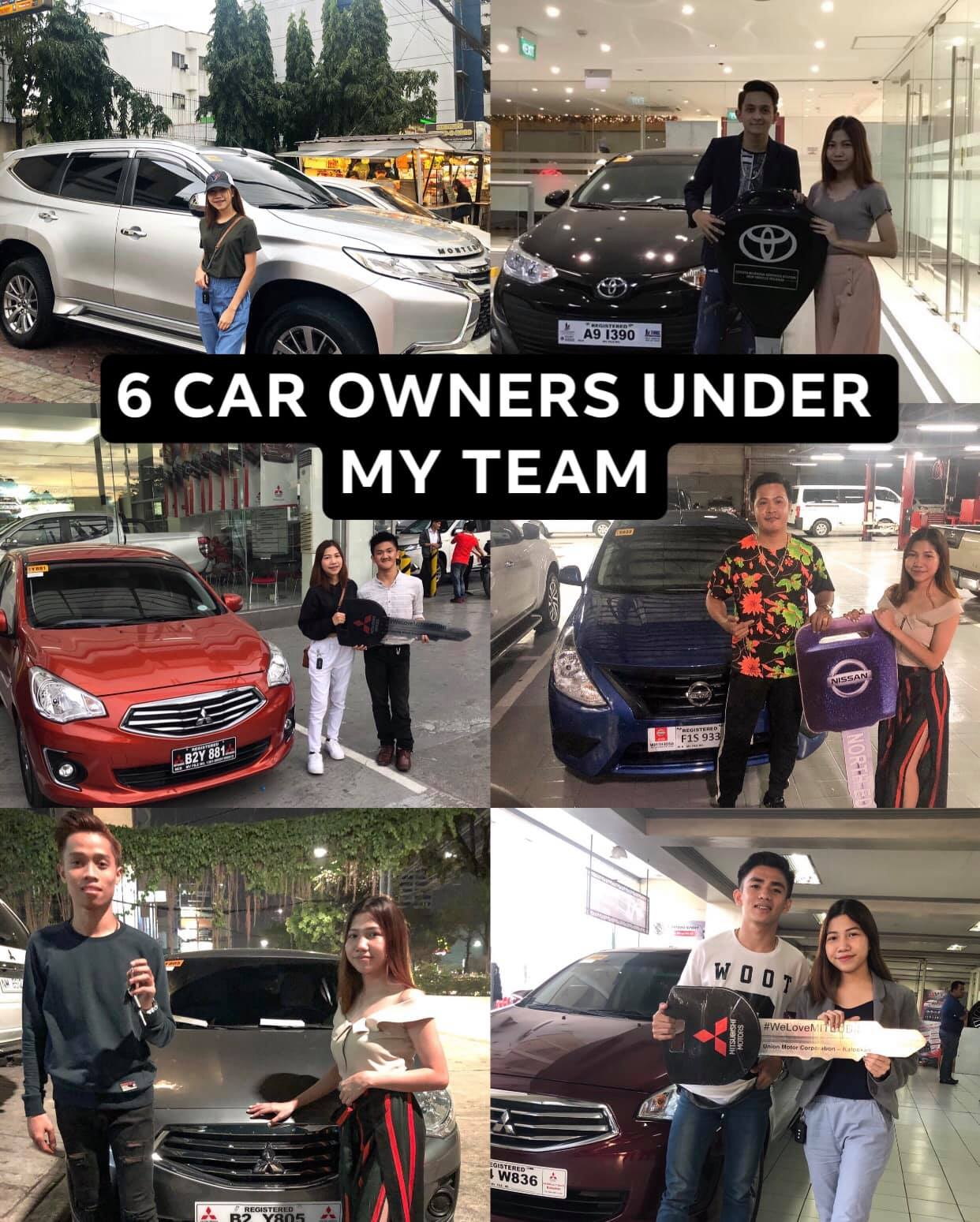 dency asia frontrow 6 car owners under team