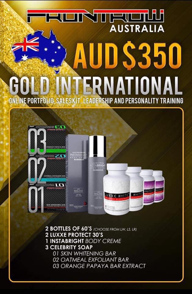 Frontrow Australia Gold Package AUD$350
