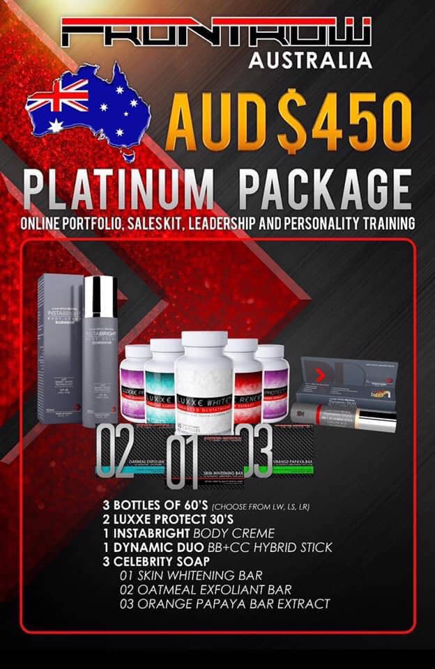 Frontrow Australia Platinum Package AUD450