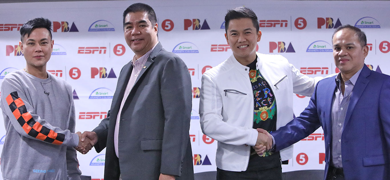 frontrow partner with PBA