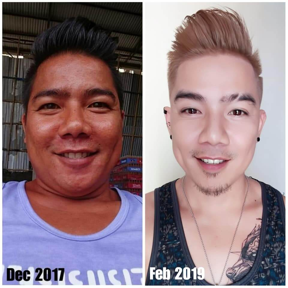 luxxe white before and after Nelson Henry Morales Cunanan
