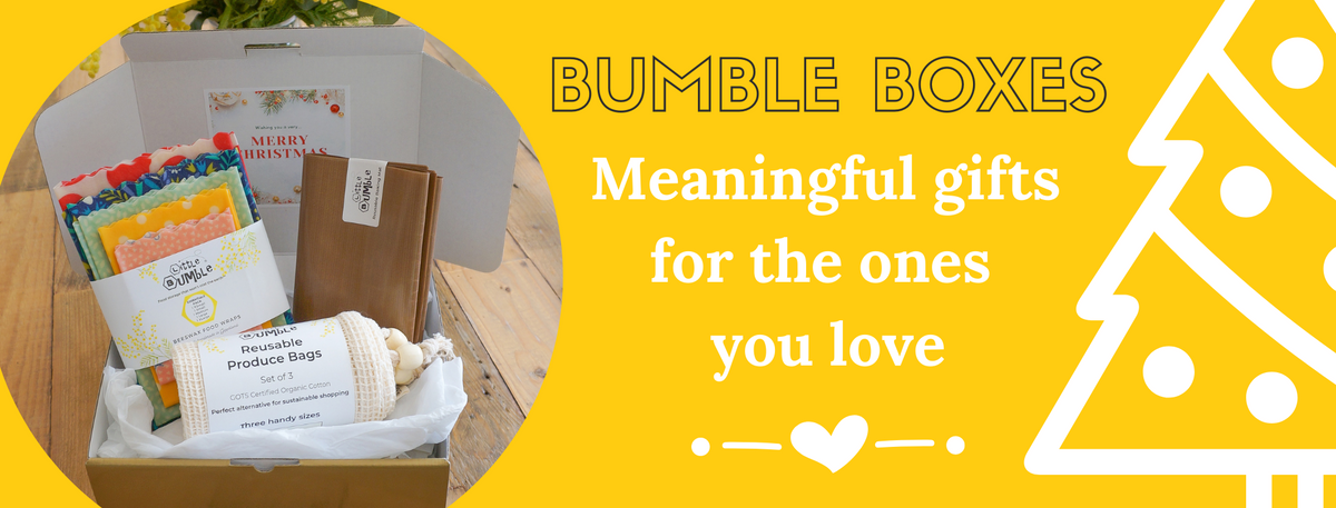 Bumble boxes are the perfect christmas gift to show you love and value your loved ones, and the environment