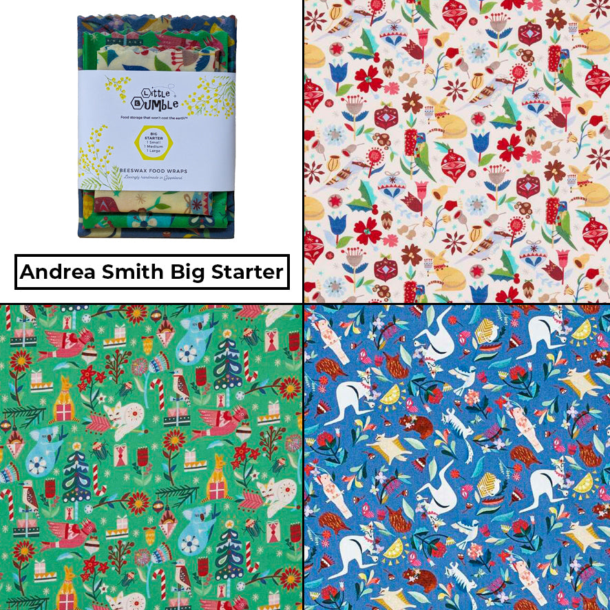 Andrea Smith - Big Starter Pack (Set of 3 wraps)