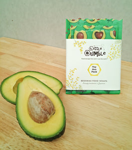 Limited Edition Wraps - Avo Pack (set of 3), covers avos through to sandwiches