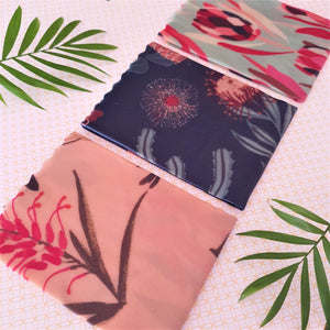 Medium Beeswax Wrap 30x30cm - Native Flowers Limited Edition Beeswax Wrap