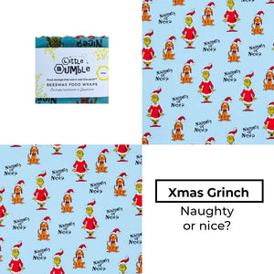 Naughty or nice? - Mini wrap 15x15cm