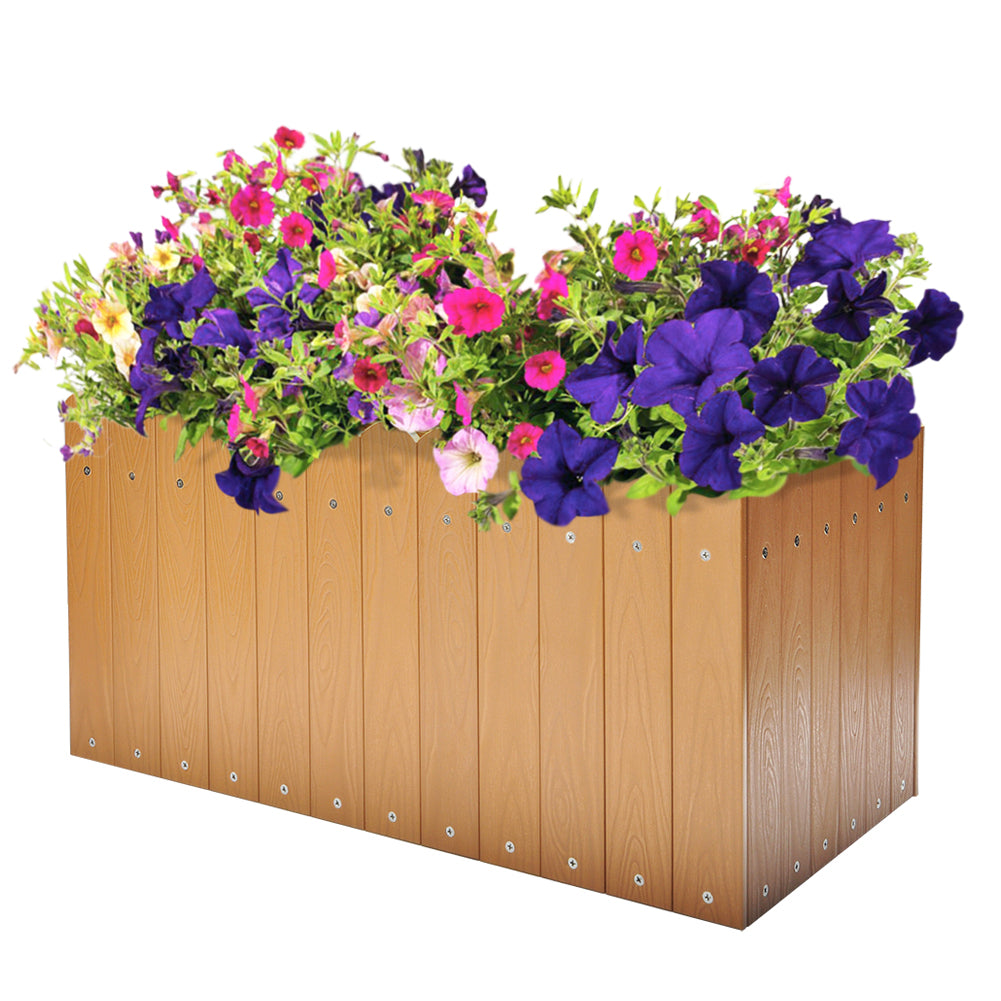 ... Outdoor Raised Planter / Flower Pot / Garden Raised Planer Box / Window Planter Box ...  sc 1 st  Babylon Patio & Outdoor Raised Planter / Flower Pot / Garden Raised Planer Box ...