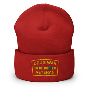 Drug War Veteran Beanie