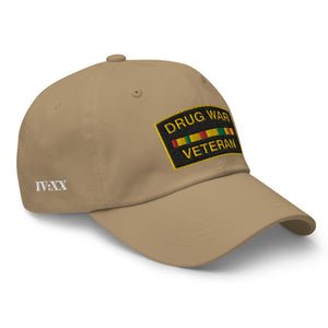 Drug War Veteran Dad Hat
