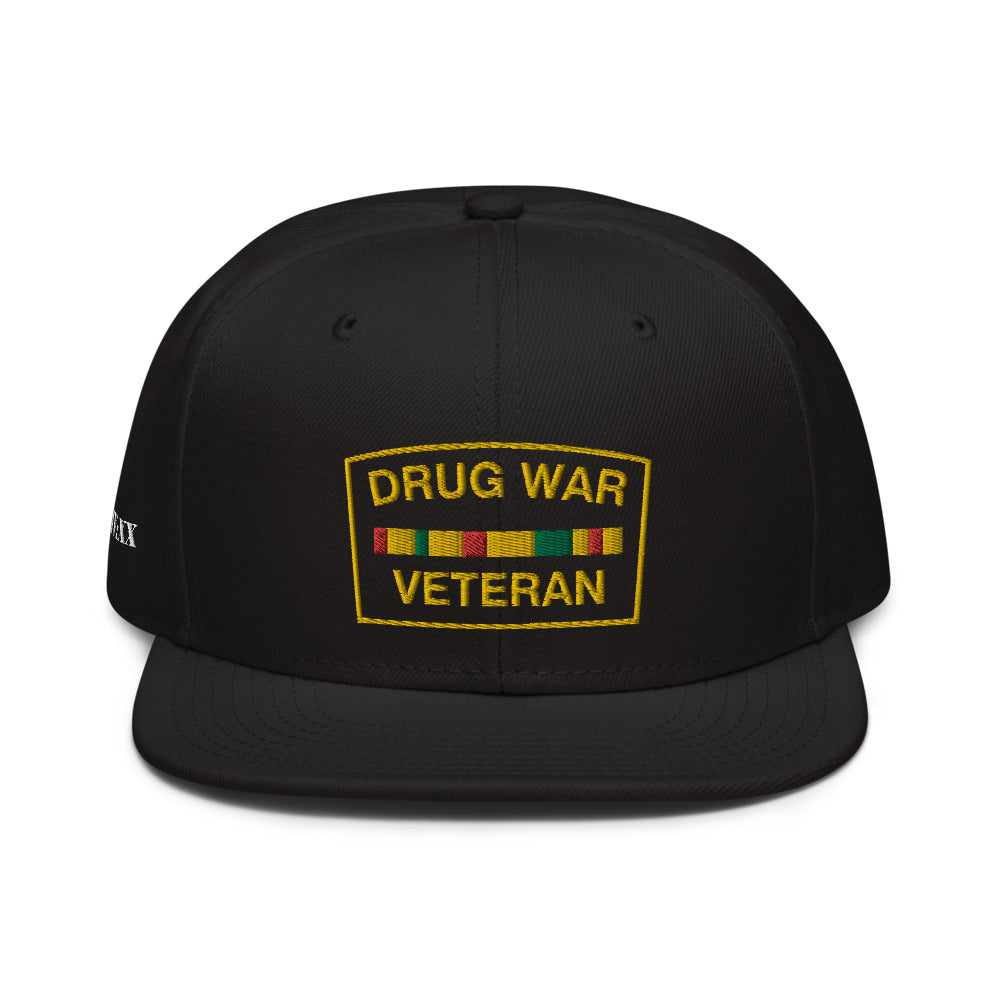 Drug War Veteran Snapback