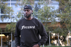 Focused Sweater - Black