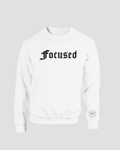 Focused Sweater - White